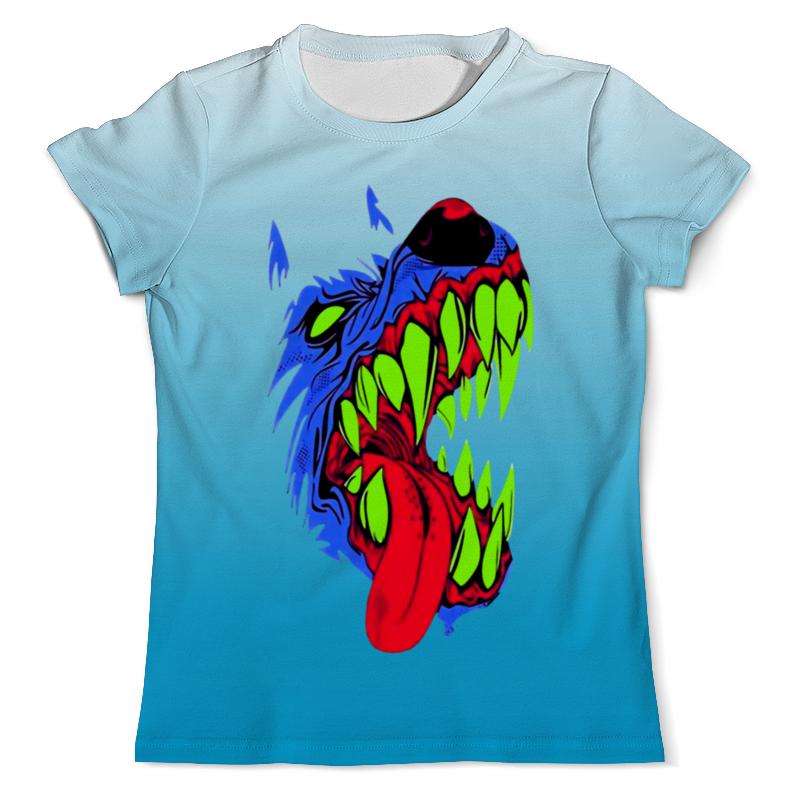 Printio Злобный пес футболка с полной запечаткой для девочек printio пес летчик
