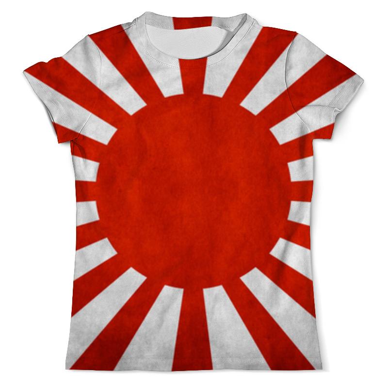Printio Японский флаг футболка с полной запечаткой мужская printio флаг британии
