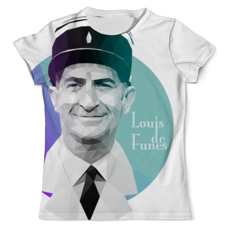 Фото - Printio Луи де фюнес low-poly футболка с полной запечаткой мужская printio heisenberg low poly