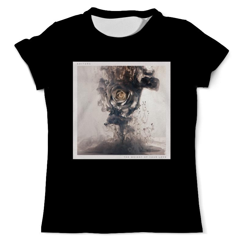 Футболка с полной запечаткой (мужская) Printio Dark rose футболка с полной запечаткой мужская printio распускающаяся роза