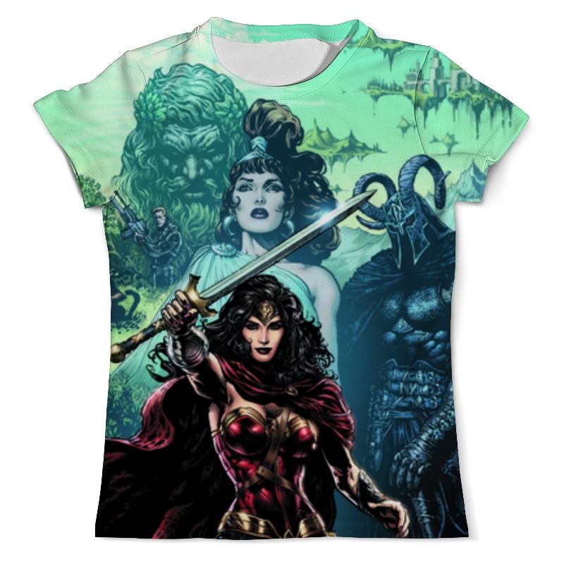 Printio Чудо-женщина (wonder woman) футболка с полной запечаткой мужская printio чудо женщина оставь их мне