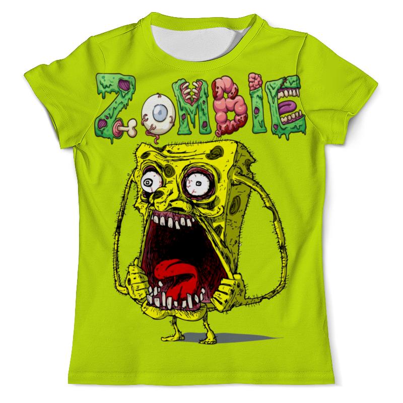 Футболка с полной запечаткой (мужская) Printio Zombie футболка с полной запечаткой мужская printio zombie ice