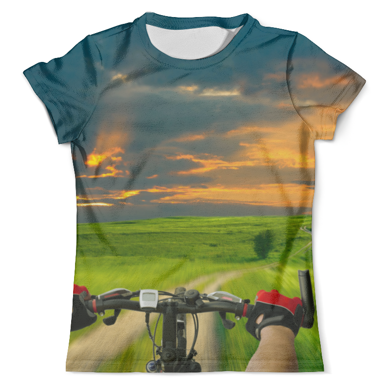 Футболка с полной запечаткой (мужская) Printio Летнее путешествие футболка с полной запечаткой мужская printio летнее солнцестояние эдвард роберт хьюз