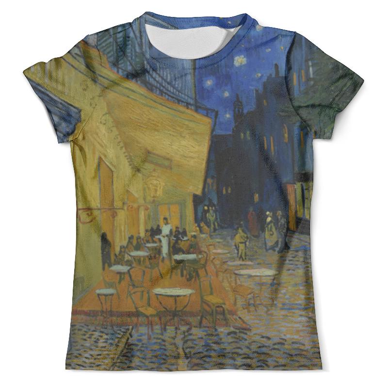 Футболка с полной запечаткой (мужская) Printio Ночная терраса кафе ( винсент ван гог) футболка с полной запечаткой мужская printio картина