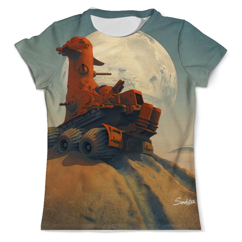 Футболка с полной запечаткой (мужская) Printio The rover футболка с полной запечаткой мужская printio the rover