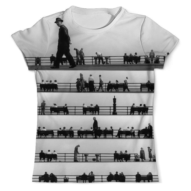 Футболка с полной запечаткой (мужская) Printio Music of the people футболка классическая printio junk people