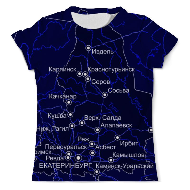 Футболка с полной запечаткой (мужская) Printio Свердловская область. екатеринбург