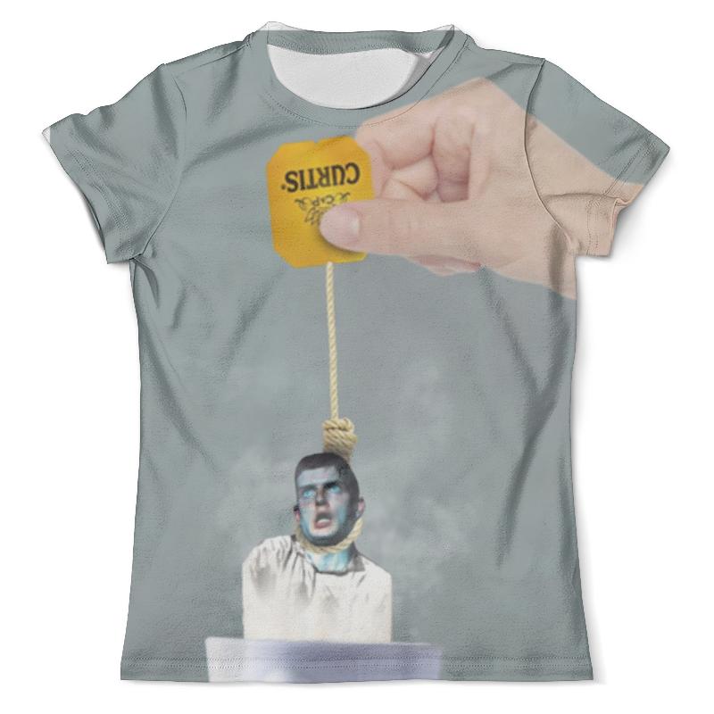 Футболка с полной запечаткой (мужская) Printio Ian curtis meme футболка с полной запечаткой для девочек printio joy division