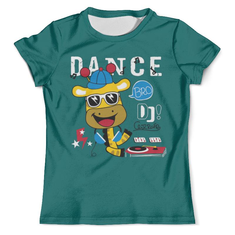 Футболка с полной запечаткой (мужская) Printio Dance видеоигра для ps4 just dance 2018