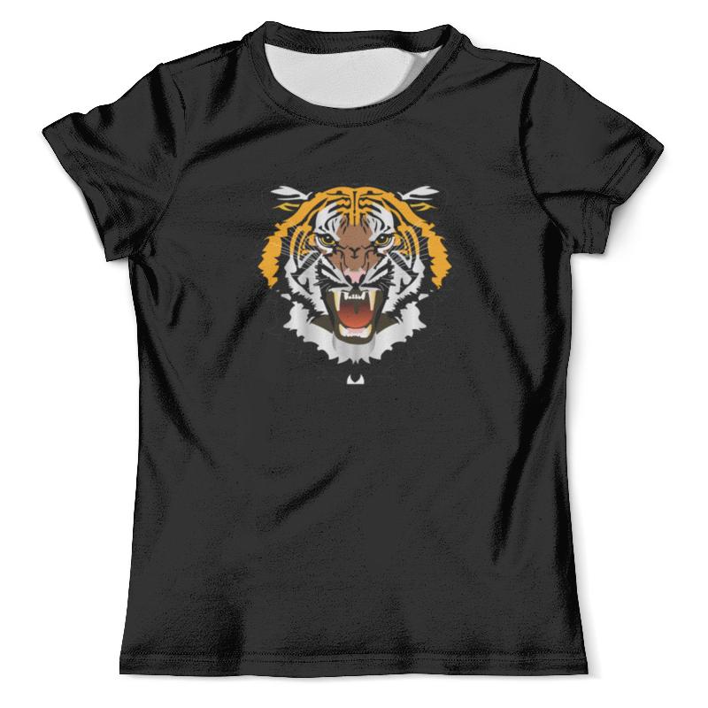 Футболка с полной запечаткой (мужская) Printio Охрана-тигр футболка охрана