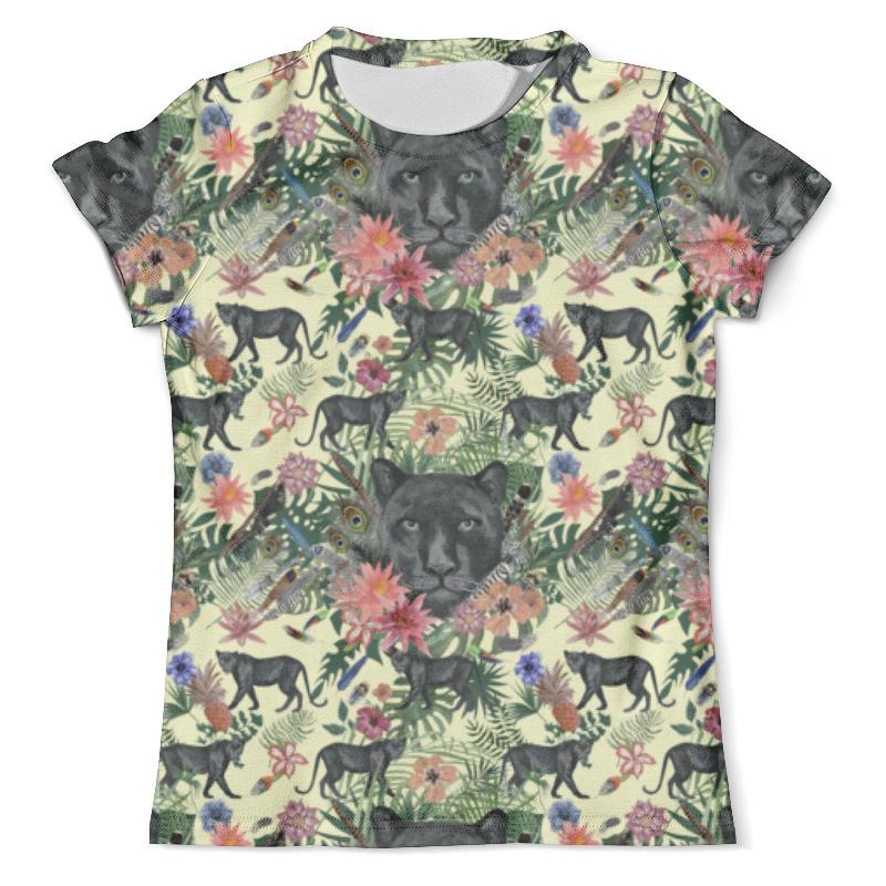 Футболка с полной запечаткой (мужская) Printio Flora & panther design ( day) футболка с полной запечаткой мужская printio flora