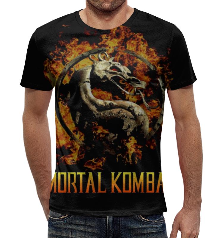 Футболка с полной запечаткой Printio Mortal kombat