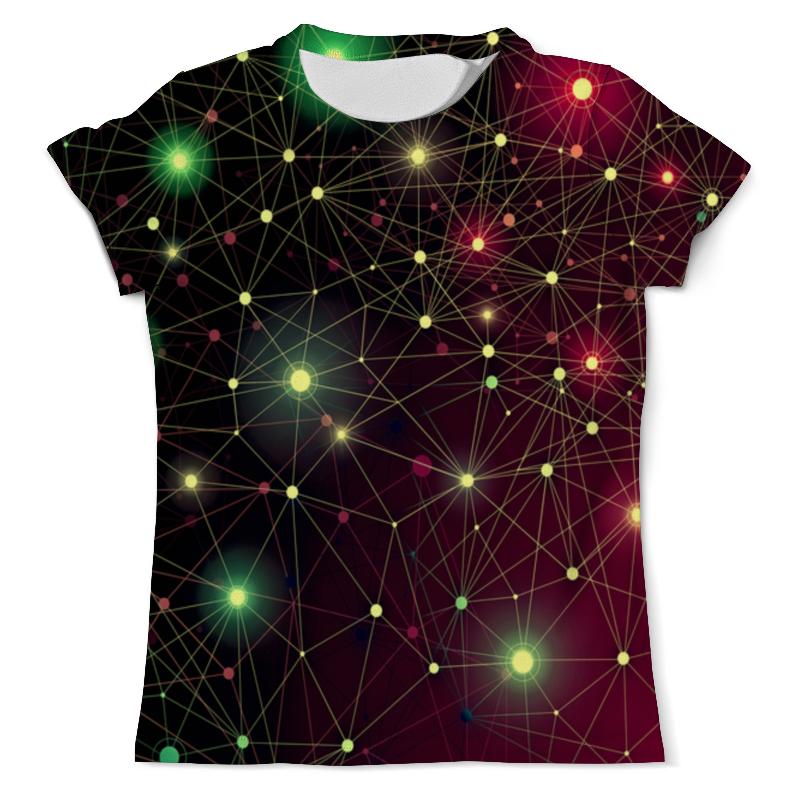 Фото - Футболка с полной запечаткой (мужская) Printio Созвездие футболка с полной запечаткой женская printio созвездие рака