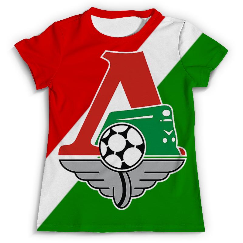 Футболка с полной запечаткой (мужская) Printio Локомотив футболка с полной запечаткой женская printio локомотив пфк