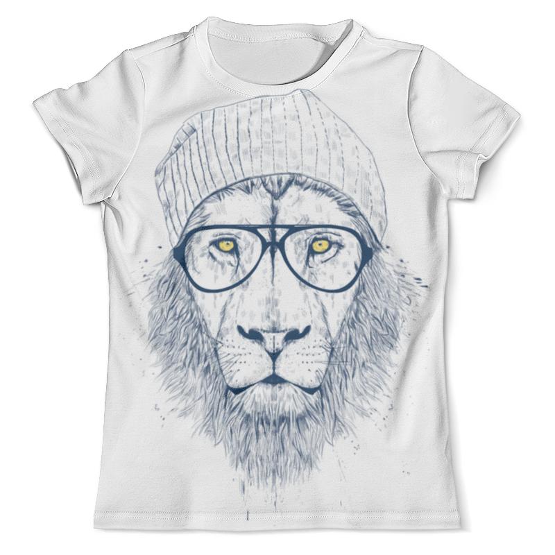 Футболка с полной запечаткой (мужская) Printio Hipster lion 3d мужская футболка brand new 3d m xxxl mts796
