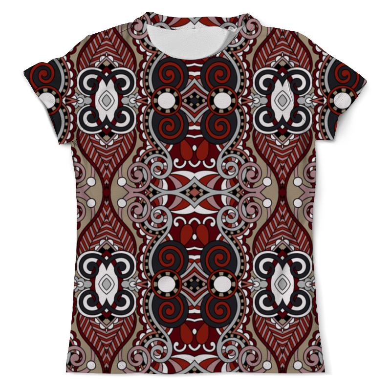 Printio Резной узор футболка с полной запечаткой женская printio резной узор