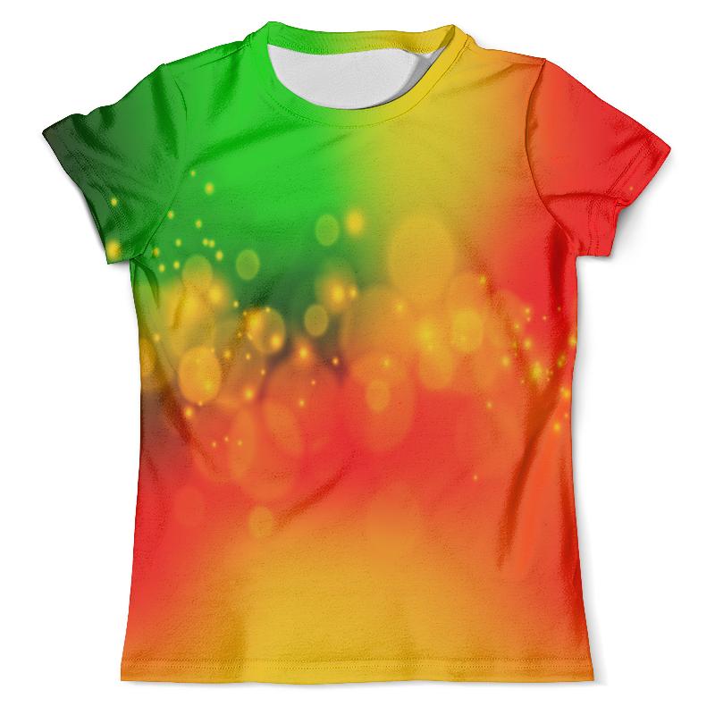 Футболка с полной запечаткой (мужская) Printio Солнечные зайчики блуза larro larro mp002xw1b18b