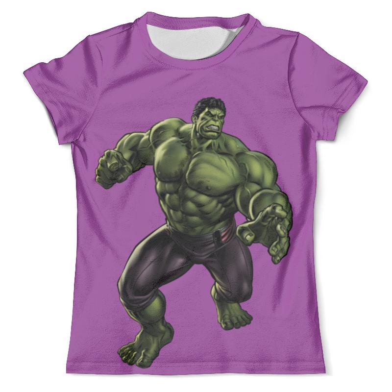 Футболка с полной запечаткой (мужская) Printio Халк (hulk) футболка с полной запечаткой мужская printio чёрная вдова и халк