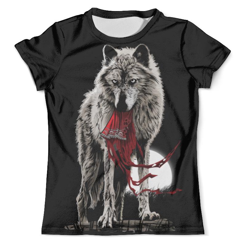 Футболка с полной запечаткой (мужская) Printio Серый волк футболка с полной запечаткой мужская printio красная шапочка и серый волк