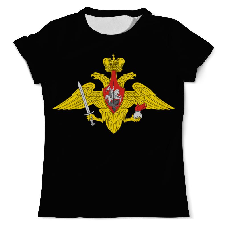 Футболка с полной запечаткой (мужская) Printio Вооружённые силы. эмблема футболка с полной запечаткой мужская printio вооружённые силы эмблема
