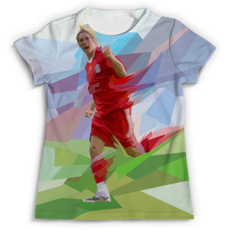 Футболка с полной запечаткой (мужская) Printio Футбольная мозайка фернандо торрес