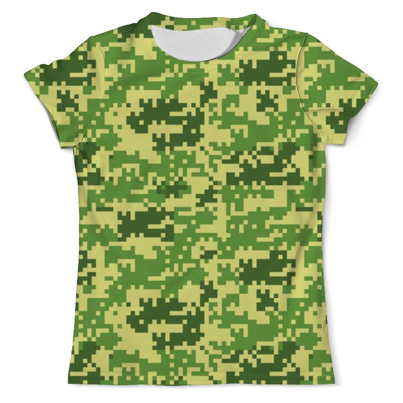Футболка с полной запечаткой (мужская) Printio Digital camouflage design