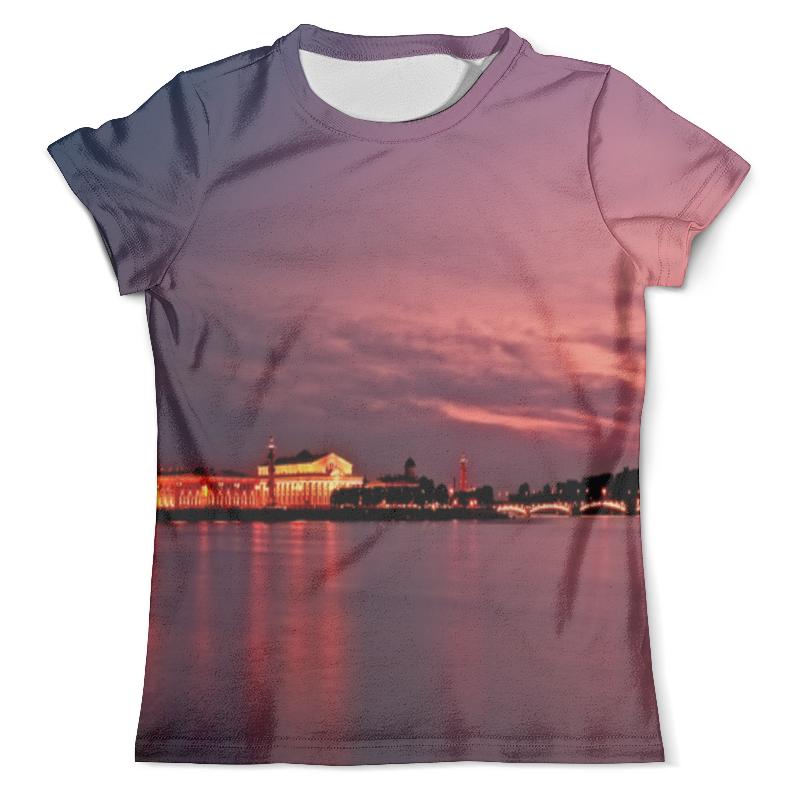 Футболка с полной запечаткой (мужская) Printio Санкт-петербург футболка с полной запечаткой мужская printio санкт петербург