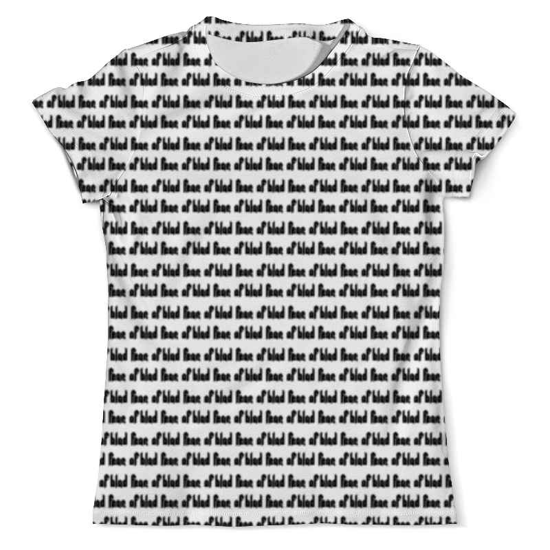 Фото - Футболка с полной запечаткой (мужская) Printio Fear of blad 20!8 tee футболка с полной запечаткой мужская printio primal fear