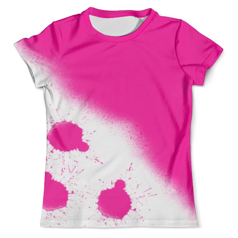 Футболка с полной запечаткой (мужская) Printio Pink splash splash about happy nappy xxl pink classic