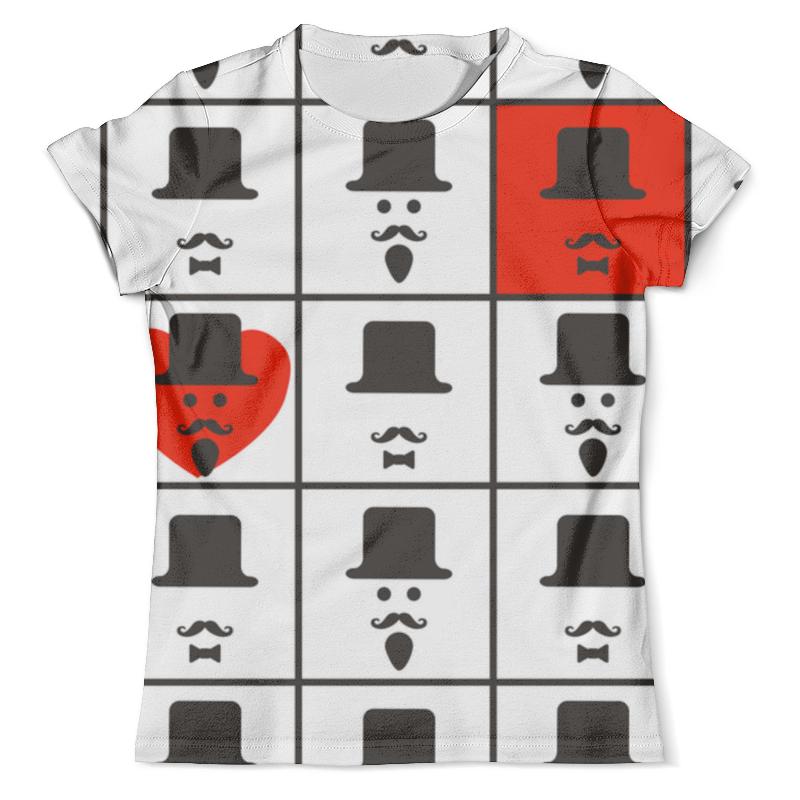Футболка с полной запечаткой (мужская) Printio Для истинных джентльменов. графический дизайн