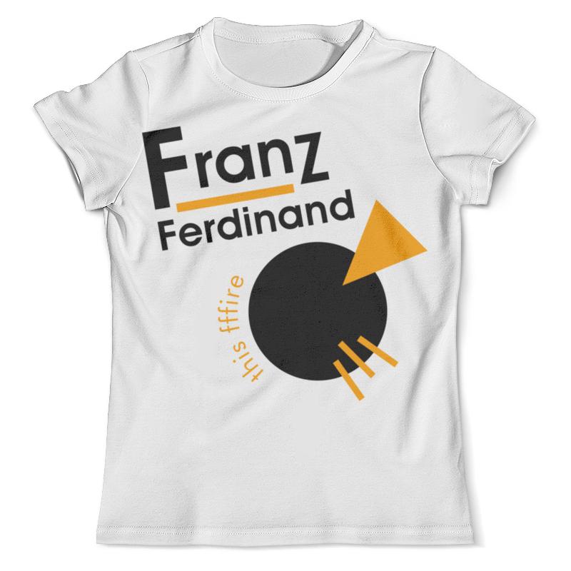 Футболка с полной запечаткой (мужская) Printio Franz ferdinand плакат a3 29 7x42 printio franz ferdinand