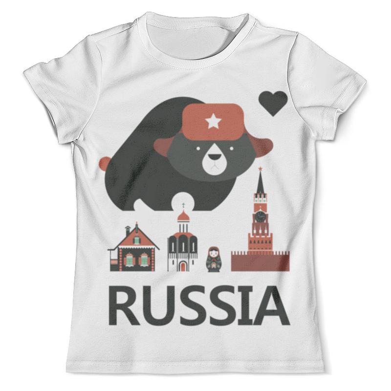 Футболка с полной запечаткой (мужская) Printio Россия (russia) футболка с полной запечаткой мужская printio россия царская