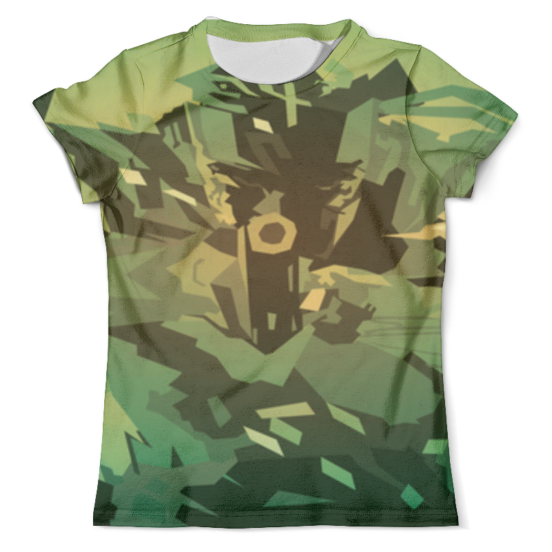 Футболка с полной запечаткой (мужская) Printio Solid snake (metal gear solid) футболка solid solid so999emarnn1