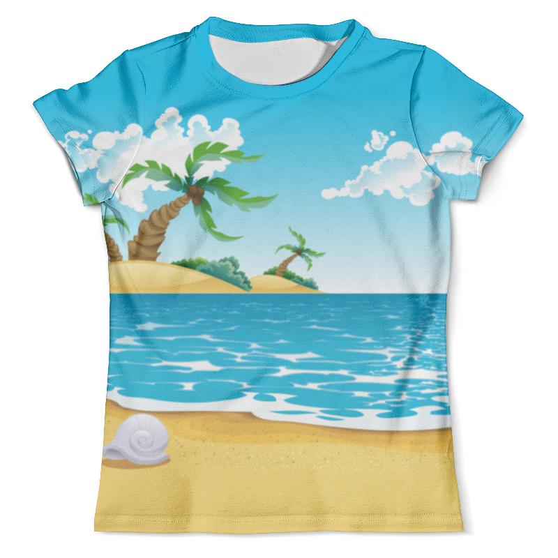 Футболка с полной запечаткой (мужская) Printio Летний отдых футболка с полной запечаткой женская printio на отдых
