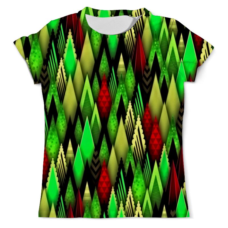 Футболка с полной запечаткой (мужская) Printio Цветные фигуры футболка с полной запечаткой мужская printio цветные текстуры
