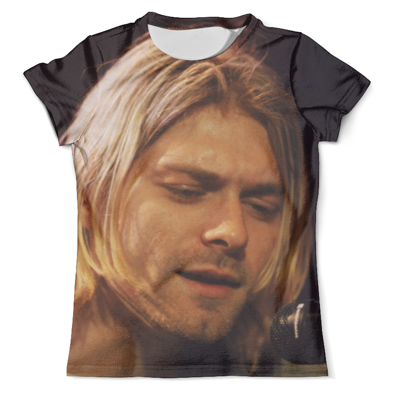 Футболка с полной запечаткой (мужская) Printio Kurt cobain футболка с полной запечаткой мужская printio kurt cobain guitar full print