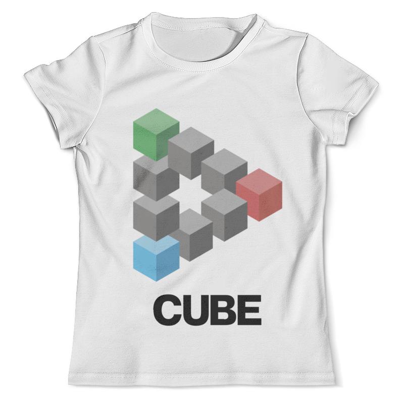 Футболка с полной запечаткой (мужская) Printio Symbol cube футболка cube sugar t vip