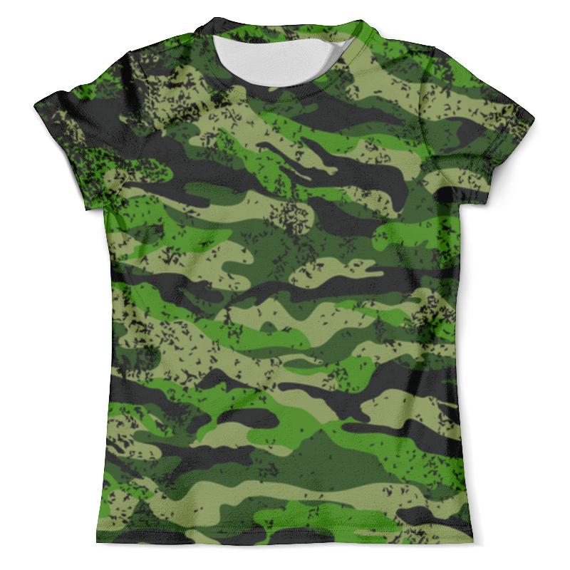 Футболка с полной запечаткой (мужская) Printio Camouflage design