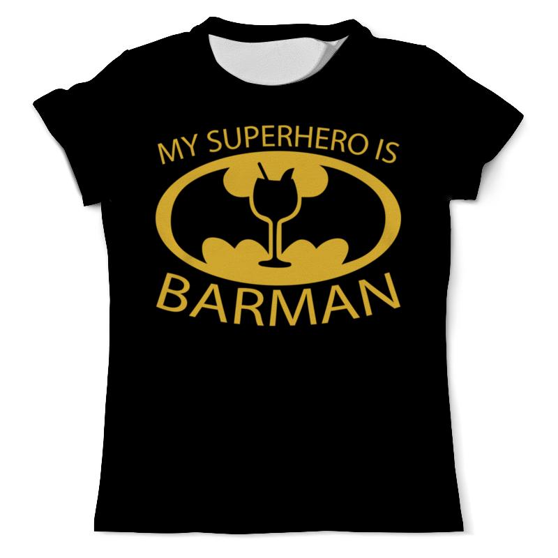 Футболка с полной запечаткой (мужская) Printio Бэтмен (batman) футболка с полной запечаткой мужская printio the lego batman movie