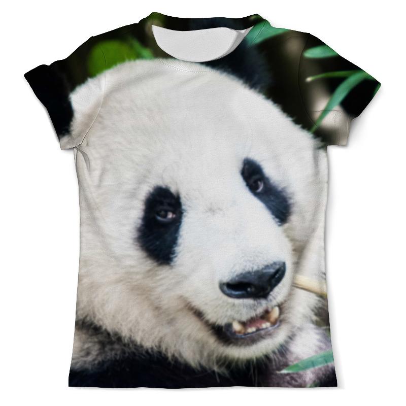 Футболка с полной запечаткой (мужская) Printio Panda vegan все цены