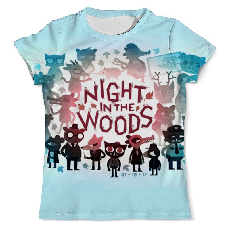 Футболка с полной запечаткой (мужская) Printio Night in the woods walk in the woods
