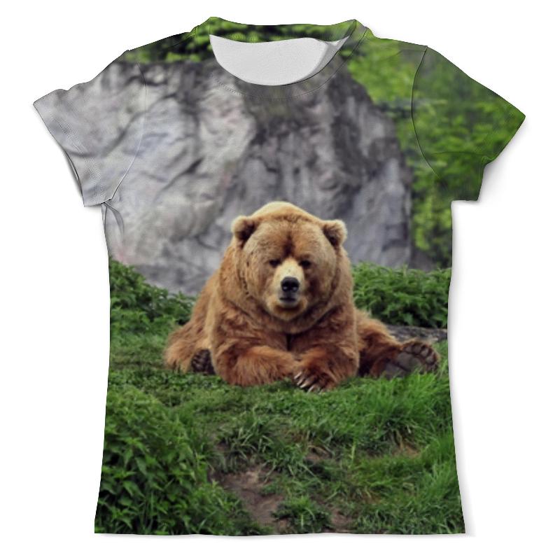 Printio Медведь футболка с полной запечаткой мужская printio эзотерика природы
