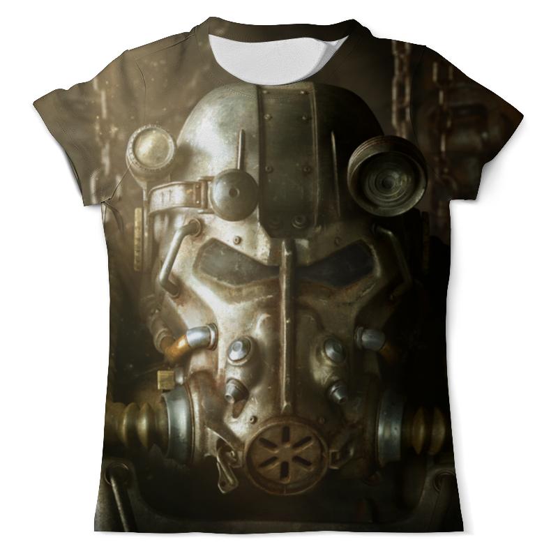 Футболка с полной запечаткой (мужская) Printio Fallout 4 футболка с полной запечаткой мужская printio old map page 4