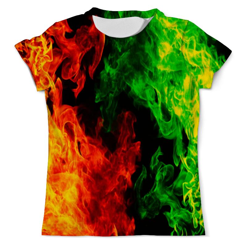Футболка с полной запечаткой (мужская) Printio Битва огней футболка с полной запечаткой женская printio битва огней кони айленд джозеф стелла
