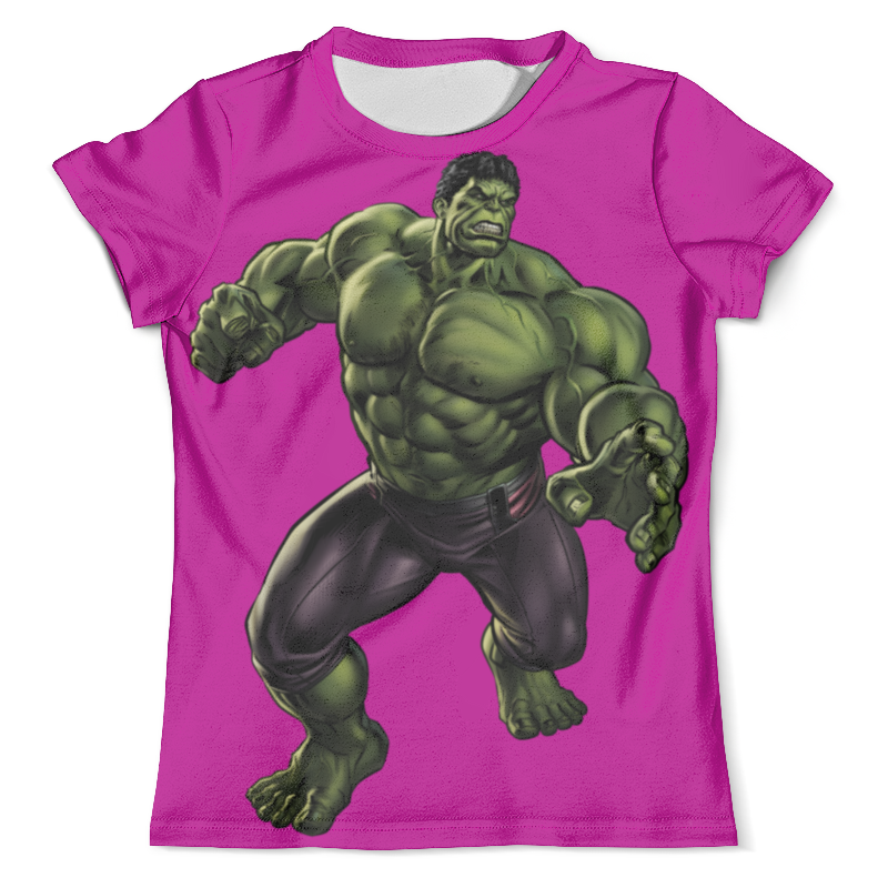 Футболка с полной запечаткой (мужская) Printio Халк (hulk) лонгслив printio халк hulk