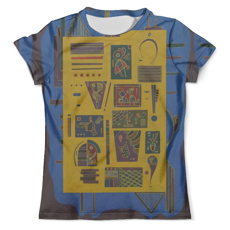 Футболка с полной запечаткой (мужская) Printio Конгломерат (василий кандинский) шапка унисекс с полной запечаткой printio желтый красный синий василий кандинский