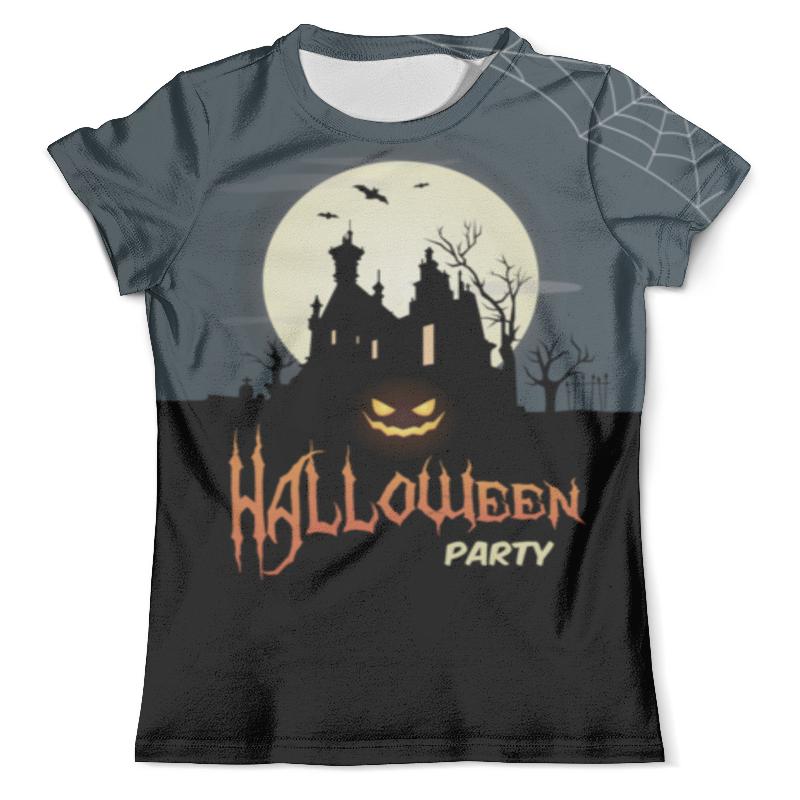 Футболка с полной запечаткой (мужская) Printio Halloween party футболка с полной запечаткой мужская printio фрактальная эзотерика мандалы