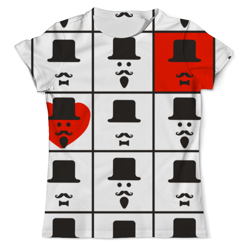 Футболка с полной запечаткой (мужская) Printio Для истинных джентльменов. футболка с полной запечаткой для мальчиков printio для истинных джентльменов