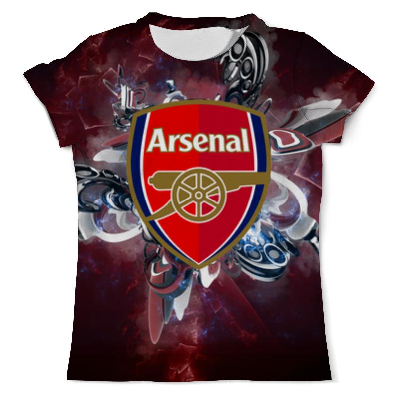 Футболка с полной запечаткой (мужская) Printio Арсенал (arsenal) футболка puma arsenal training jersey 751711031