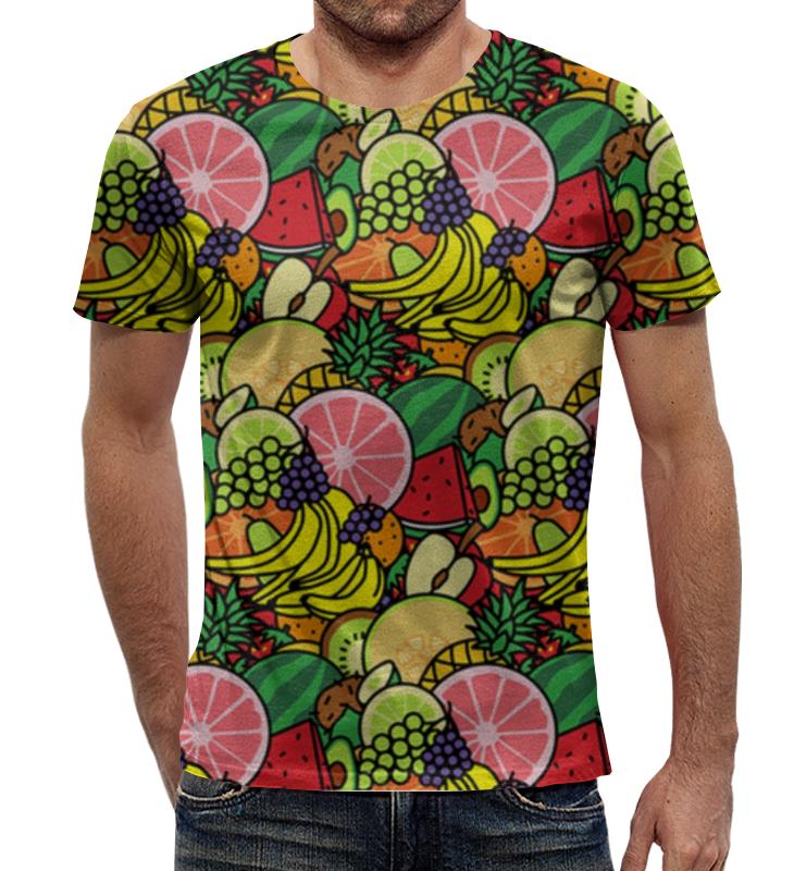 Футболка с полной запечаткой Printio Фруктовая футболка с полной запечаткой для мальчиков printio фруктовая